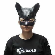Adorable Catwoman Latex Mask Halloween Lady Popular Cosplay Costume Mask Prop