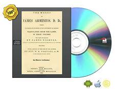 The works of James Arminius, D. D., professor of divinity 3 Vol set eBook On CD