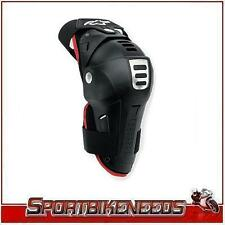 Alpinestars Bionic Black Red Knee Guards One Size