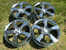 "20"" CHEVROLET CAMARO SS Camero FACTORY OEM WHEELS NEW CHROME RIMS CHEVY 5443"