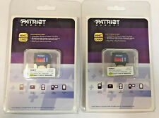 New 256MB (2pcs 128MB) Patriot RSMMC RS-MMC Flash Card with Adapter