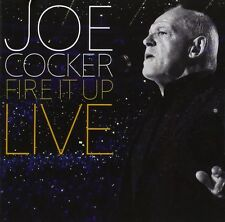 JOE COCKER - FIRE IT UP-LIVE 2 CD  21 TRACKS INTERNATIONAL POP   NEW+