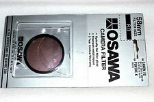 Osawa 58 mm NEW FLD Screw-In Filter with Pouch/Box  Made in Japan (M89)