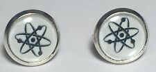 Big Bang Theory Atom Science Stud Earrings 1 Pair Unisex