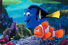 POSTER ALLA RICERCA DI DORY FINDING NEMO MARLIN LOCANDINA CINEMA MOVIE DVD #9