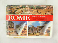 Rome Past and Present w/ Reconstructios of Ancient Monuments Picture Book 1996