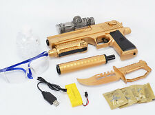 usb rechargeabe Golden Shaheen Shura electricbb bullet gun bursts children guns