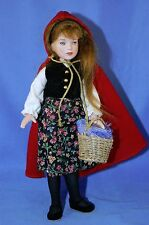 Rare Robert Tonner 8 Inch Bisque Red Riding Hood Doll from 1998 #129/500