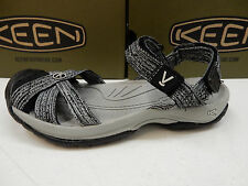 KEEN WOMENS SANDALS BALI STRAP NEUTRAL GREY BLACK SIZE 8