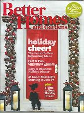 Better Homes and Gardens December 2011 Holiday Decorating Ideas/Cookies