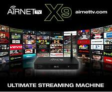 "AirNet TV X9 Fastest Streaming Media Box On The Market!  ""Air Mouse Keyboard"""