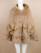 Cosplay Sweet Love Lolita Coat Kawaii Cape with Bunny Ears