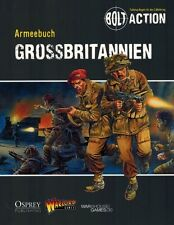 Warlord Bolt Action Armeebuch Grossbritannien & Sowjetunion GERMAN Rule Books