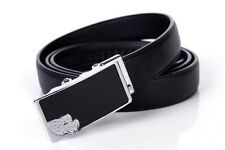 Women Belt Real Cow Genuine Leather Septwolves Auto Lock Ladies black 327113300