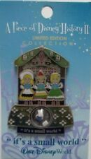Disney Pin: Piece of Disney History 2006 It's A Small World LE 2500