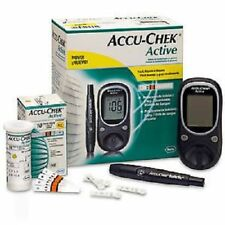 Accu Chek Active Diabetes Monitor with 10 Test Strips Glucometer free shipping