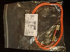 QUIKTRON 810-LL2-006 MULTIMODE LC TO LC DUPLEX FIBER PATCH JUMPER CABLE 2-METER