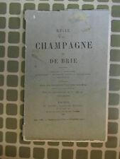 Revue de Champagne et de Brie mars 1881 Mertrus-St-Ouen, Thin-le-Moutier