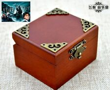 Vintage Square Wind Up Music Box : Harry Potter Hedwig's Theme