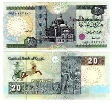 Egypt 2015 Uncirculated 20 Pounds Note