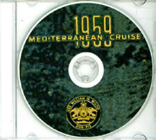 USS William M Wood DDR 715 1959 Med CRUISE BOOK Log  CD