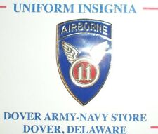 WWII US ARMY 11TH AIRBORNE PIN - CURRENT PRODUCTION - GREAT FOR CAPS/JACKETS!
