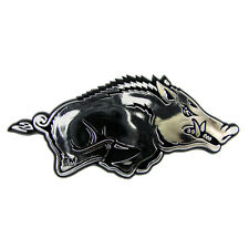 Arkansas Razorbacks Classic Auto Emblem [NEW] Silver Car Decal Sticker CDG