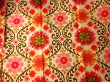 Remnant from Vera Bradley Folkloric napkin  gr8 4 crafting, quilting, repairing,