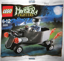 LEGO MONSTER FIGHTERS 30200 Coffin CAR zobmie autista Polybag PROMO BUSTINA