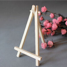 Mini Wooden Cafe Table Number Easel Wedding Place Name Card Holder Stand  HK