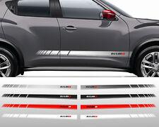 2 X BANDES STRIPE RACING NISMO POUR NISSAN JUKE 370Z AUTOCOLLANT STICKER BD546