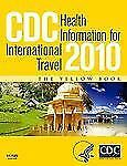 CDC Health Information for International Travel 2010-ExLibrary