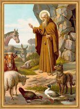 Sankt Leonhard Schutzpatron Tiere Leonhardiritt Bauern St. LW Sankt A2 0088