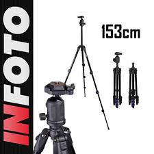 Carbon Stativ Camrock 153cm TS53 f. Nikon D7000 D5000 D3100 D3000 D300 D90 D80