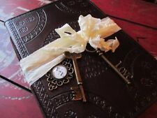 Leather Vintage Style Wedding Guest Book