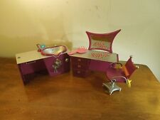 Lot of Bratz Doll Furniture Hair Salon Desk Hair Wash Station Chair Mirror Brush