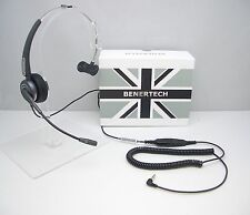 BEN06 Mono Headset for Alcatel 4028 4029 4038 4039 4068 & Phone with 3.5mm jack