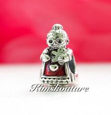 Authentic Pandora MRS CHRISTMAS SANTA CLAUS S925 ALE Charm Bead 792005EN07