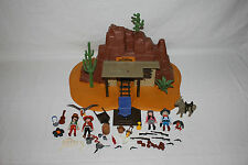 Playmobil Western   Goldmine 3802  Top Zustand