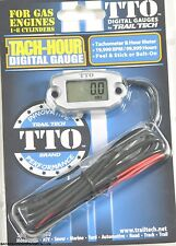 TRAIL TECH TTO TACH HOUR METER COMPUTER DIGITAL GUAGE