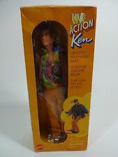 Vintage - Barbie Doll Live Action Ken Toy by Mattel 1970 - MIB SEALED MISB