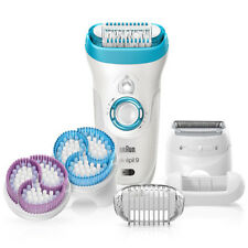 NEW Braun Silk Epil 9 9-961 Wet Dry Cordless Epilator with 6 Extras Attachments.