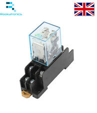 24V DC 8 Pin LY2N-J Relay DPDT with Socket Base Included High Quality Free Post