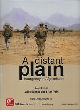 NEW - GMT GAMES --- A DISTANT PLAIN - INSURGENCY IN AFGHANISTAN