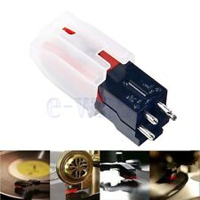 Turntable Phono Ceramic Cartridge W/ Stylus Needle For LP Vinyl Record Player BE