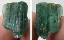 17.20ct Brazil 100% Natural Greenish Blue Rough Indicolite Tourmaline Crystal