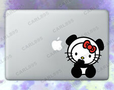 Hello Kitty Panda (B) Color Vinyl Sticker for Macbook Air/Pro