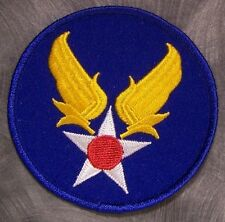 Embroidered Military Patch USAF Army Air Force NEW Hap Arnold Emblem
