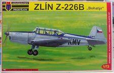 """Zlin Z-226 B """"Bohatyr"""", 1:72, Kovozavody Prostejou, Plastikbausatz, NEU"""