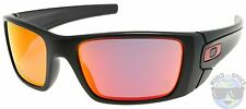 Oakley Fuel Cell Sunglasses OO9096-A8 | Matte Black | Ruby Iridium | Ferrari NIB